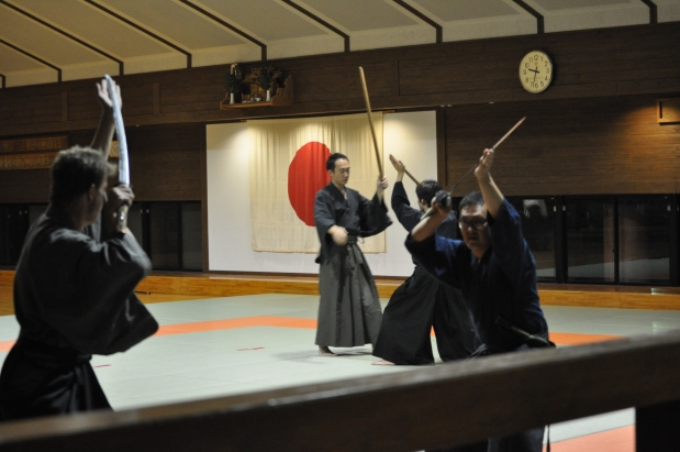 At Yatsushiro Dojo – April 2014