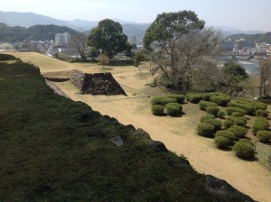 Hitoyoshi Castle seat of the Lords of Sagara-han